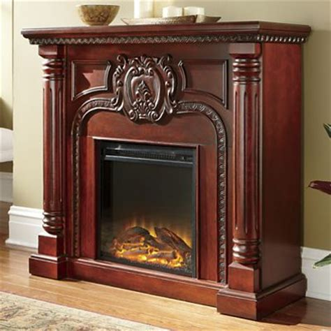 Seventh Avenue Fireplace by Carved Pillar Fireplace From Seventh Avenue D9741380