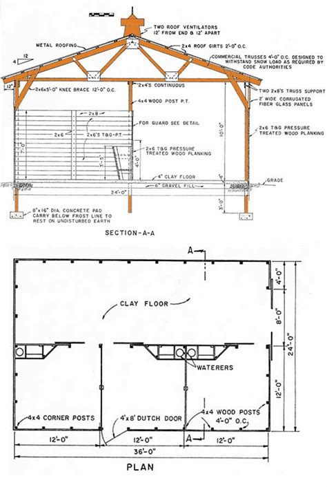 Free Pole Shed Plans by 24 215 36 Pole Shed Plans How To Make A Durable Pole Shed