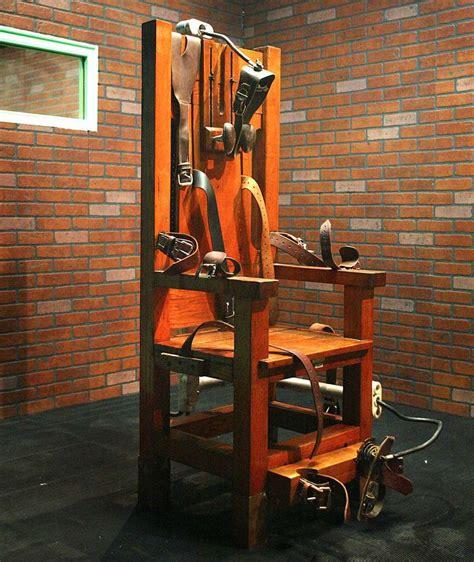 Todesstrafe Usa Elektrischer Stuhl elektrischer stuhl wird 125 grausamsten hinrichtungen