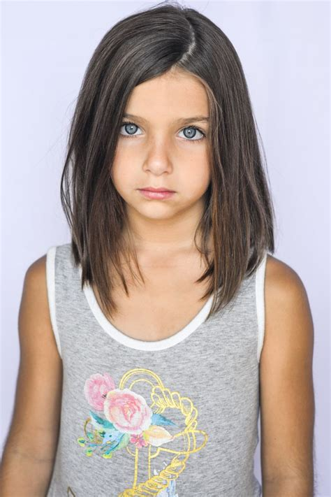 medium length hair for 4 year old awesome girls lob haircuts for little girls
