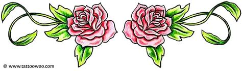 lower back tattoos roses 50 tattoos meaning