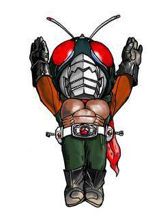 Chibi Deformed Kamen Rider Skull And Trading Card kamen rider ex aid costume template pattern pepakura 3d model costume template pattern