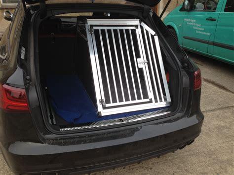 Hundebox F R Audi A4 Avant by Hundetransportboxen F 252 R Audi Faustmann Hundeboxen