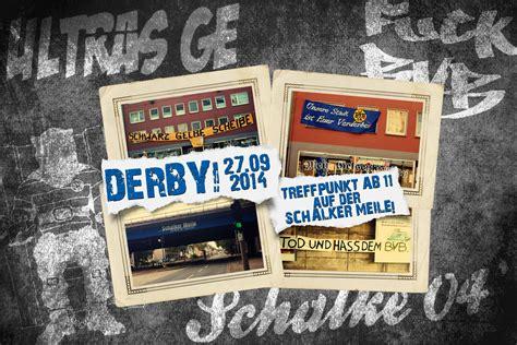 Ultras Ge Aufkleber by Gef 228 Hrliches Pott Wochenende Schalke Und Dortmund