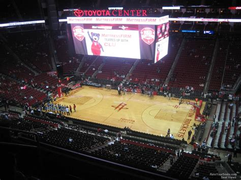 toyota center sections toyota center section 407 houston rockets
