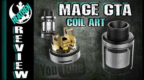 Authentic Rta Mage Gta Coil new best single coil rta the mage gta from coil i heathen the