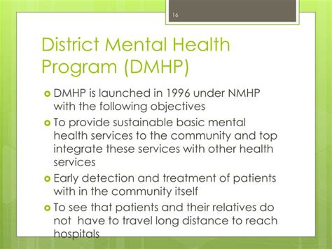 section 127 mental health act ppt national mental health programme powerpoint