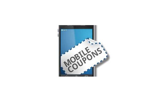 mobile coupons system