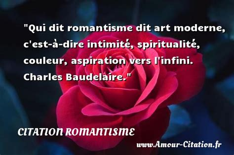 Qui Dit Jalousie Dit Amour by Qui Dit Romantisme Dit Citation Romantisme Le