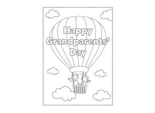 grandparents card template happy grandparents day card ichild