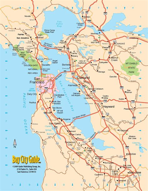 map of san francisco bay area 0 tourist map san francisco bay area california freeway system 0b jpg 1700 215 2200 san