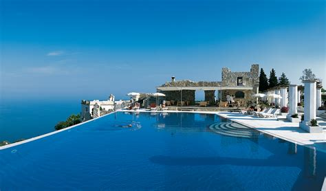 best restaurants in ravello best hotels ravello italy hotel caruso the infinity pool