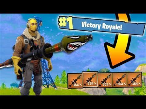5 gold rocket launchers vs. solo squads! (fortnite battle