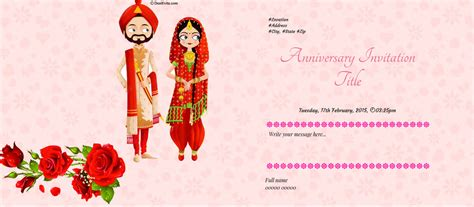 Wedding Anniversary Invitation Cards India by Wedding Anniversary Invitation Cards India Yaseen