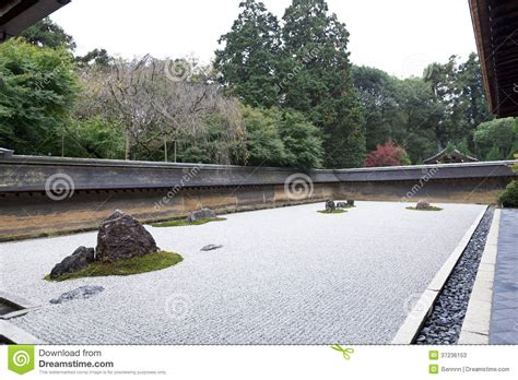 Ryoanji Rock Garden A Zen Rock Garden In Ryoanji Temple In Kyoto Stock Photo Chsbahrain