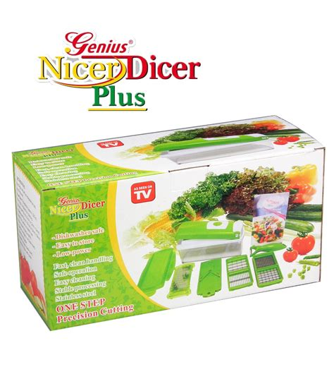 Genius Nicer Dicer Plus Wakastore 1 genius nicer dicer plus available at shopclues for rs 699