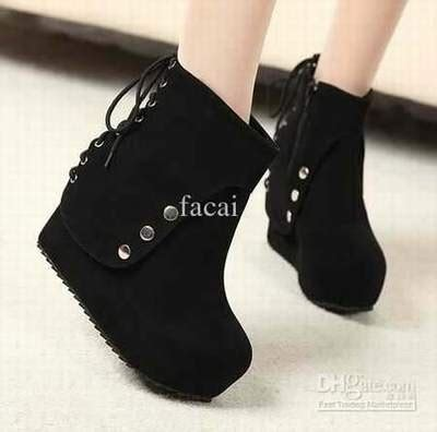 Hush Puppies Wedges High Heels Hak Tinggi Platform Sandales Compensees Hautes Baskets Compensees Les