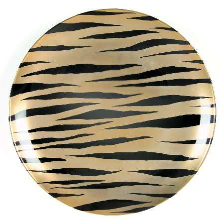 zebra pattern dinnerware fitz floyd zebra d or at replacements ltd