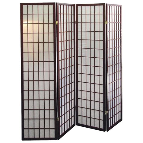 Polaris 174 4 Panel Room Divider 148118 Decorative Decorative Room Divider
