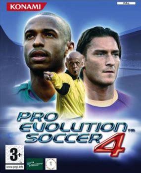 pro evolution soccer 4 wikipedia
