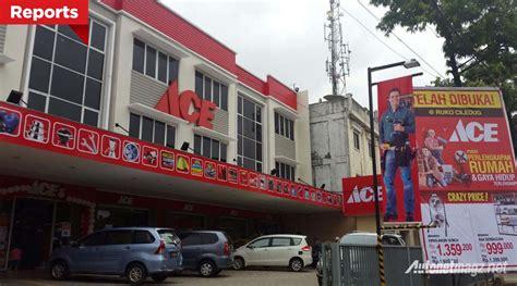 ace hardware tunjungan plaza ace indonesia resmikan gerai terbaru di pondok gede
