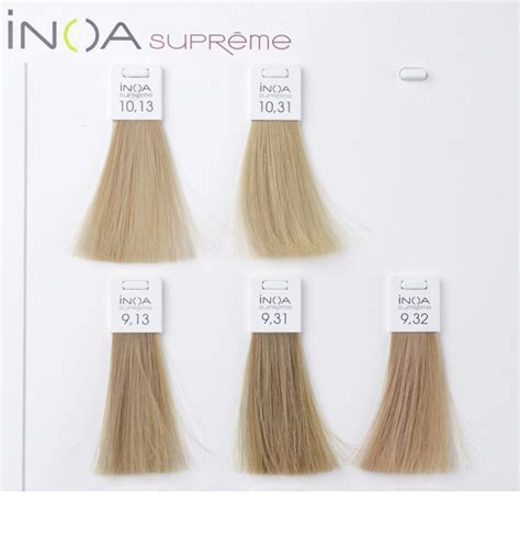 loreal inoa supreme colour chart l or 201 al professionnel inoa supreme haarfarbe notino de