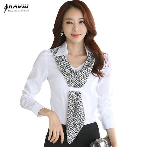 Fashion Wanita Gardeny Blouse high quality new fashion s shirt slim formal scarf collar sleeve brand blouses office