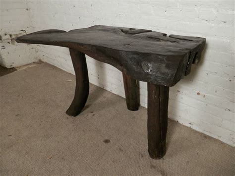 Driftwood Table L One Of A Driftwood Table Desk For Sale At 1stdibs
