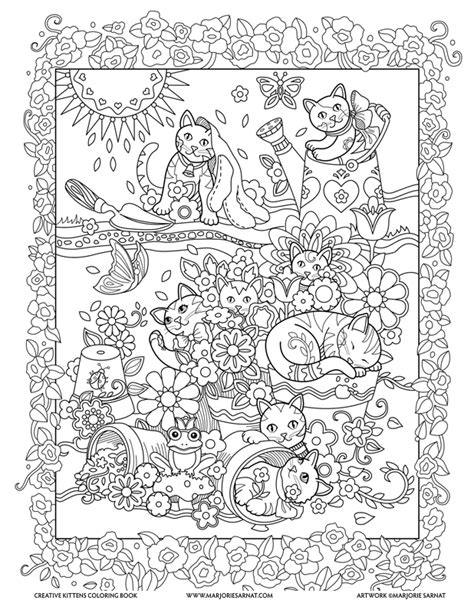libro stargazer space colouring book creative kittens marjorie sarnat design illustration