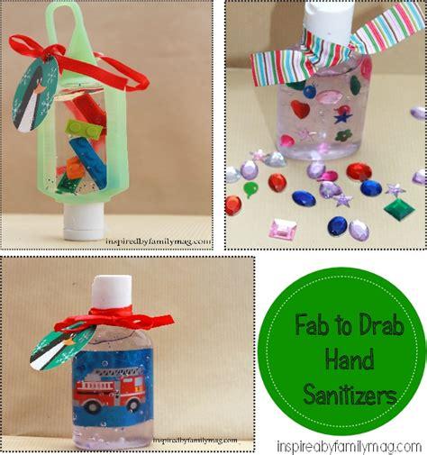 Handmade Stuffers - handmade gifts from drab to fab sanitizers