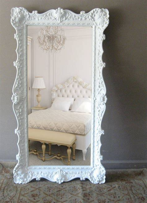 20 best collection of shabby chic length mirrors