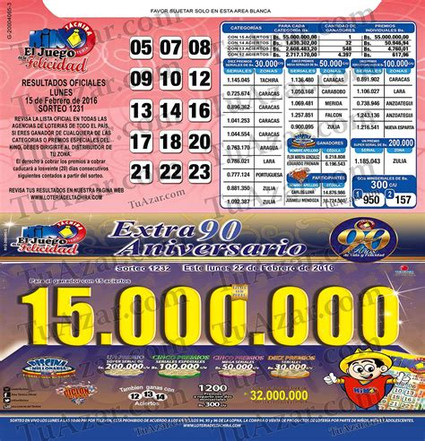 Loteria Kino Tachira Sorteo Nro 1231 Tuazar | loter 237 a kino t 225 chira sorteo nro 1231 listado 171 tuazar