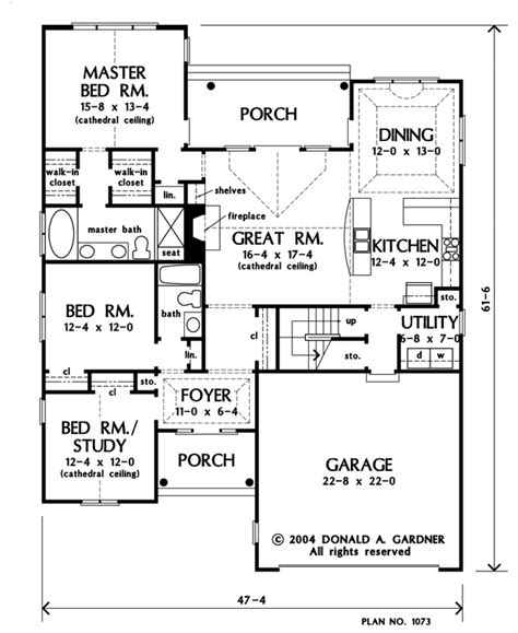 home plan the sterling by donald a gardner architects