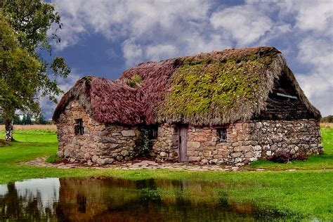 Cottages In Highlands by Cottage In The Highlands Photograph By Anthony Dezenzio