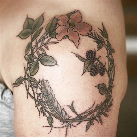 rose wreath tattoo 199 best images about tattoos carrier on