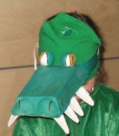 How To Make A Crocodile Mask Out Of Paper - printable alligator mask crocodile mask alligator