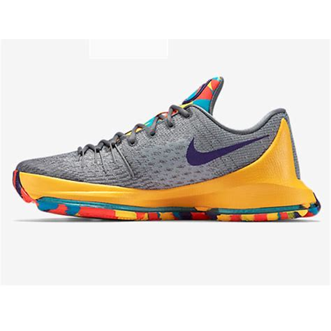 and grey basketball shoes nike kd 8 basket shoe gray and yellow buy nike kd 8