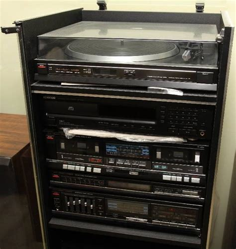 Fisher Stereo Cabinet fisher stereo system current price 40