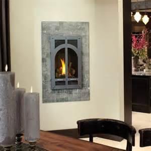 portrait style gas fireplace by avalon 21 trv gsr2 has a