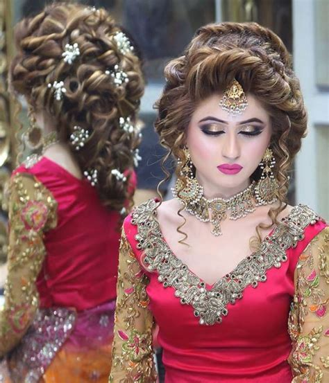 latest hairstyles party hairstyle and bridal makeup