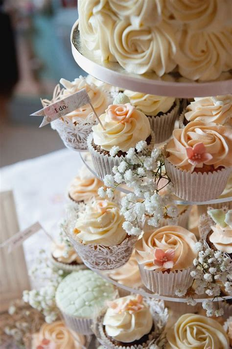 wedding cupcake ideas cupcake wedding cakes mon cheri bridals