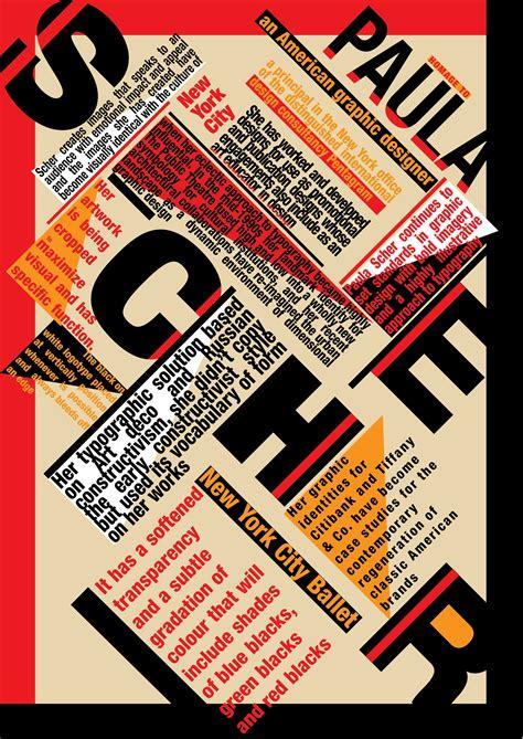 typography layout paula scher santaritadesign