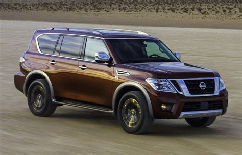 nissan armada 2016 nissan armada is confirmed as a rebadged patrol for the