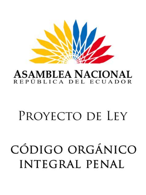 ley de compaias ecuador ecuadorlegalonline coip c 243 digo org 225 nico integral penal del ecuador