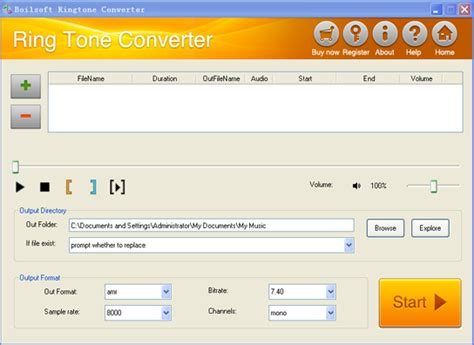 download mp3 m4r converter boilsoft ringtone converter convert any videos to amr