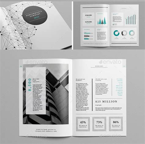 20 best indesign annual report templates brochure