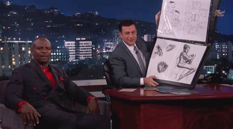 Terry Crews Criminal Record Terry Crews Shares Portfolio On Jimmy Kimmel Live
