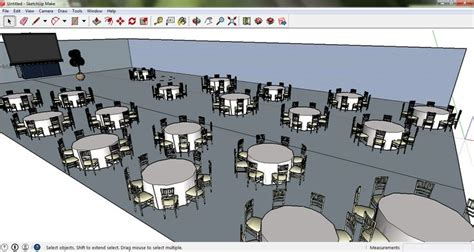 sketchup layout table banquet layout on sketchup events pinterest banquet