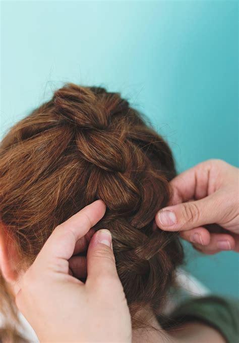 flip hair upsidedown and cut confetti french braid update a subtle revelry