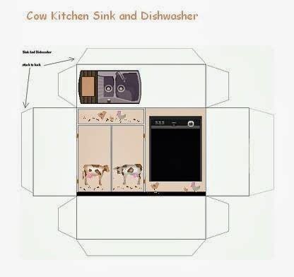Cantos E Encantos Miniaturas De Papel Cozinha Kitchen Appliances Templates